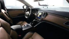 Renault Talisman Sporter ha in abitacolo pelle Nappa e legno opaco