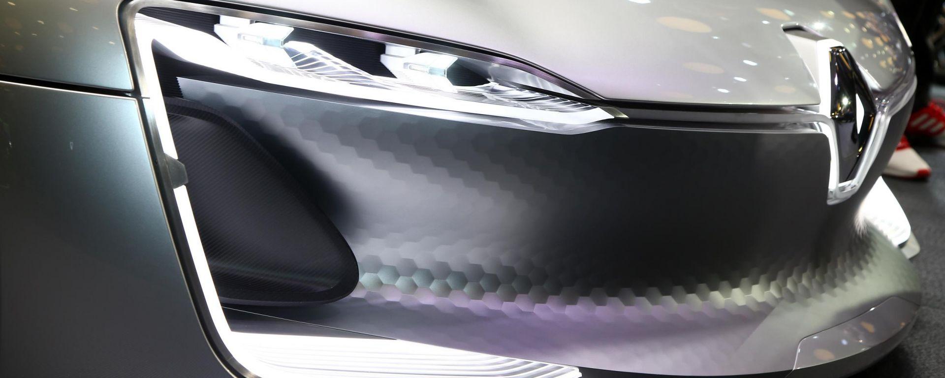 Renault Trezor prefigura il nuovo corso stilistico Renault