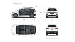 Renault Triber le dimensioni