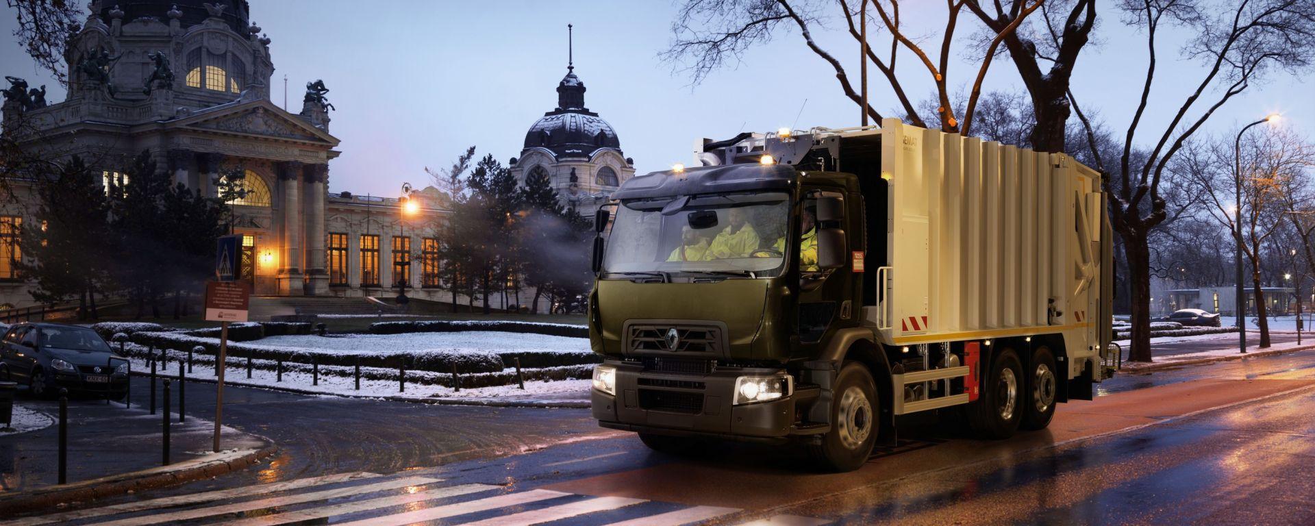 La gamma distribuzione Renault Trucks D