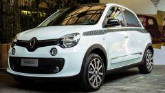 Renault Twingo La Parisienne: badge esterni specifici