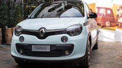 Renault Twingo La Parisienne: la tinta esterna è il Verde Acqua