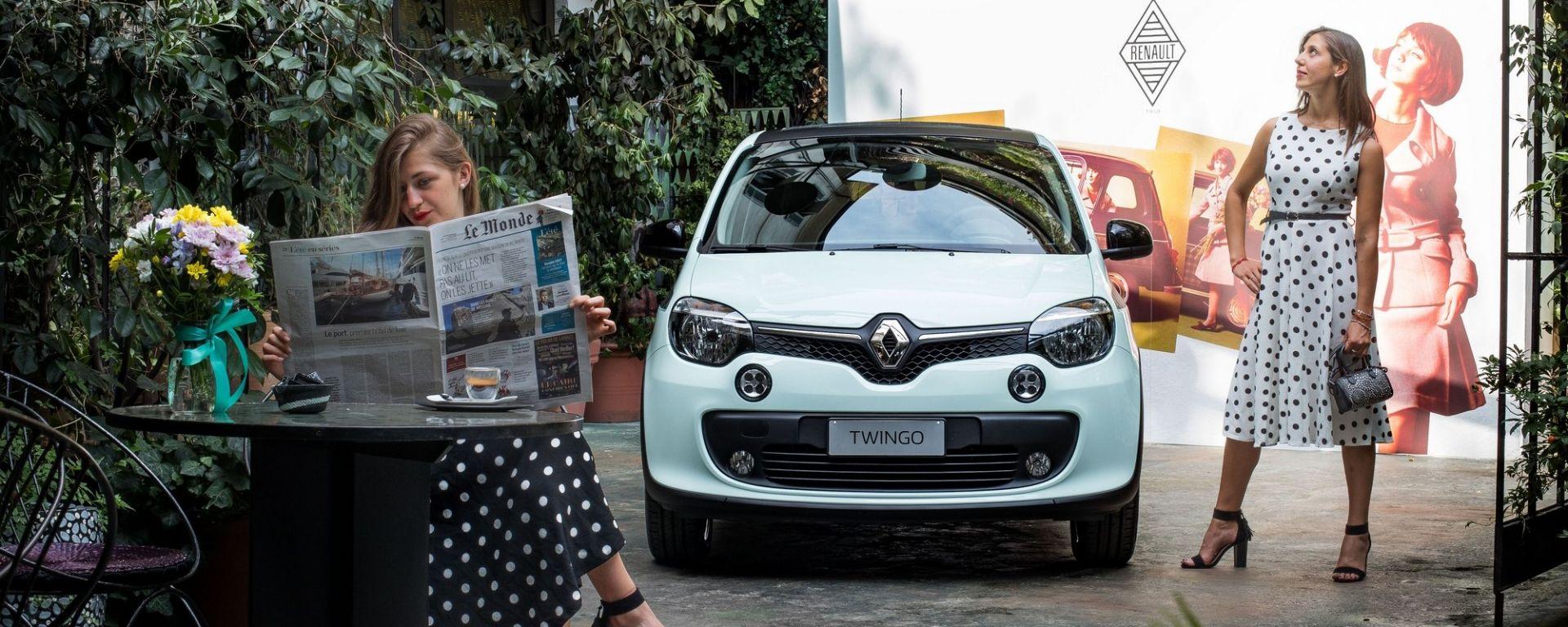 Renault Twingo La Parisienne: nuova limited edition per la citycar della Regìe
