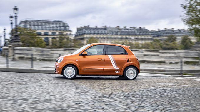 Renault Twingo Z.E: laterale