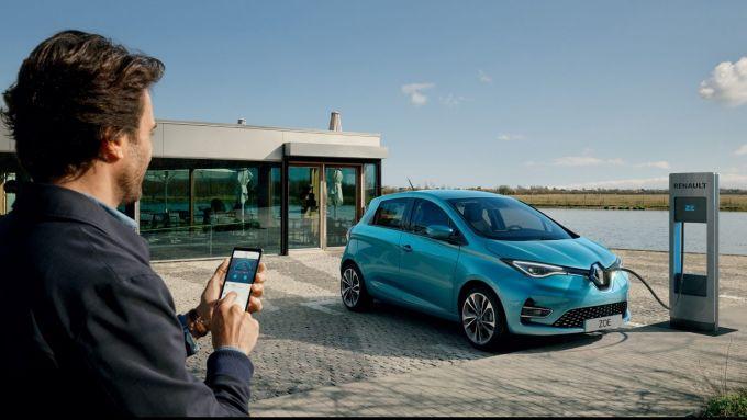 Renault Zoe: car-sharing a Bergamo con Mobilize
