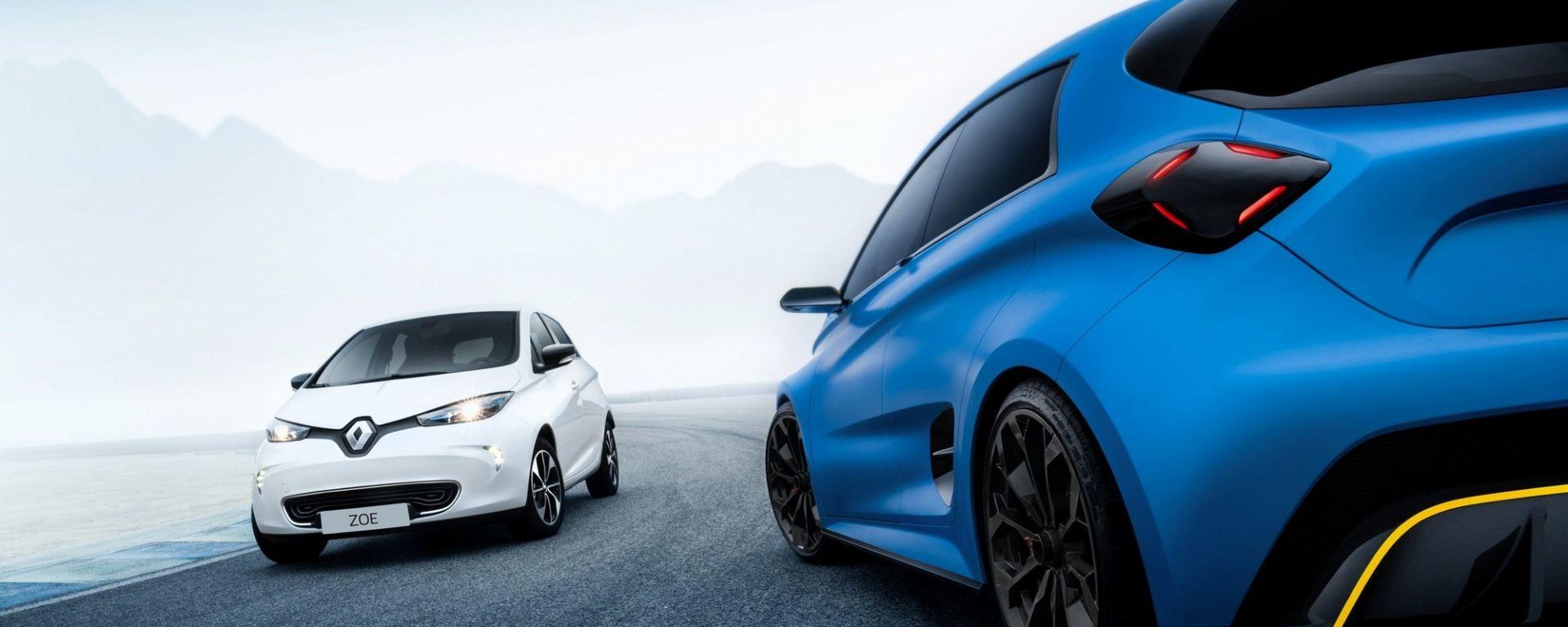 Renault Zoe E-Sport Concept: l'elettrica da corsa
