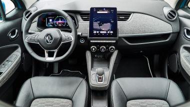 Renault ZOE gli interni