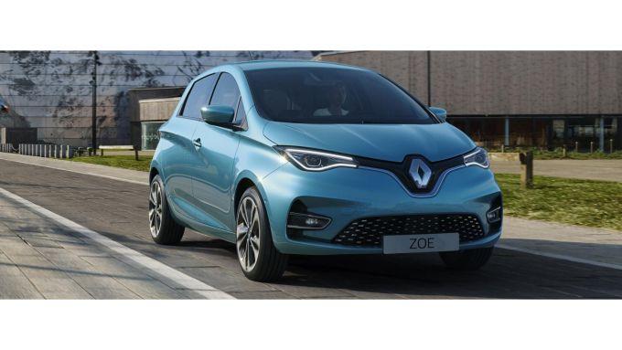 Renault Zoe la 100% elettrica della Casa francese