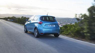 Renault Zoe, la prova su strada della piccola elettrica francese