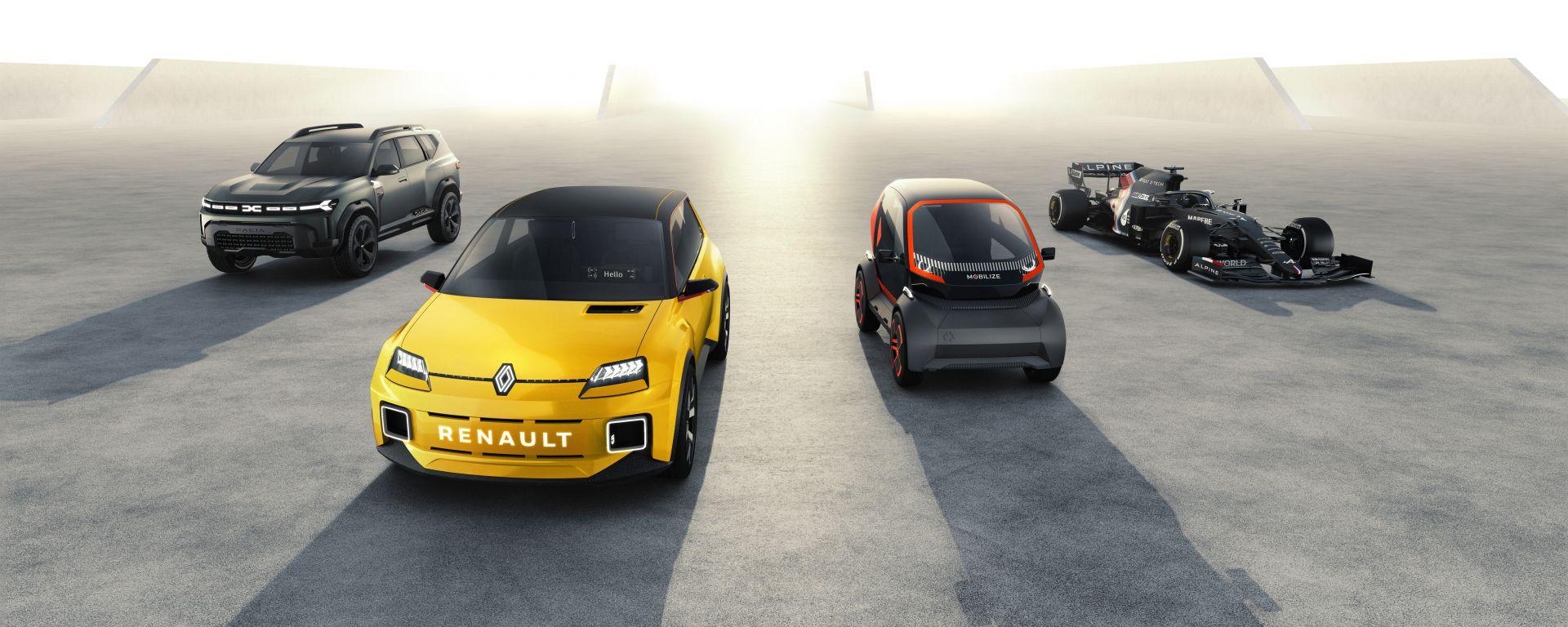 Renaulution, i piani di Renault entro il 2025