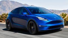Render di un'ipotetica Tesla Model 2