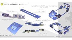 Rendering Ferrari FXX40: alcuni disegni dei dettagli