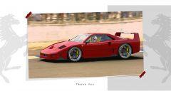Rendering Ferrari FXX40: come la immagina il designer in pista