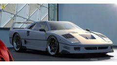 Rendering Ferrari FXX40: i rendering di una possibile supercar del Cavallino