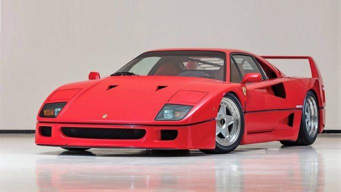 Rendering Ferrari FXX40: il modello originale della F40