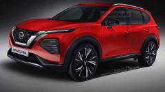 Rendering Nissan X-Trail 2021