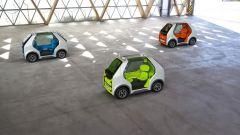 Rendering Renault EZ-POD: le diverse colorazioni