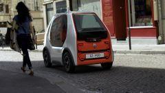 Rendering Renault EZ-POD: vista 3/4 anteriore