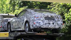 Retro BMW Serie 4 Coupé, le foto spia