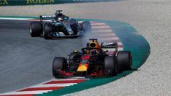 Ricciardo e Hamilton - GP Austria