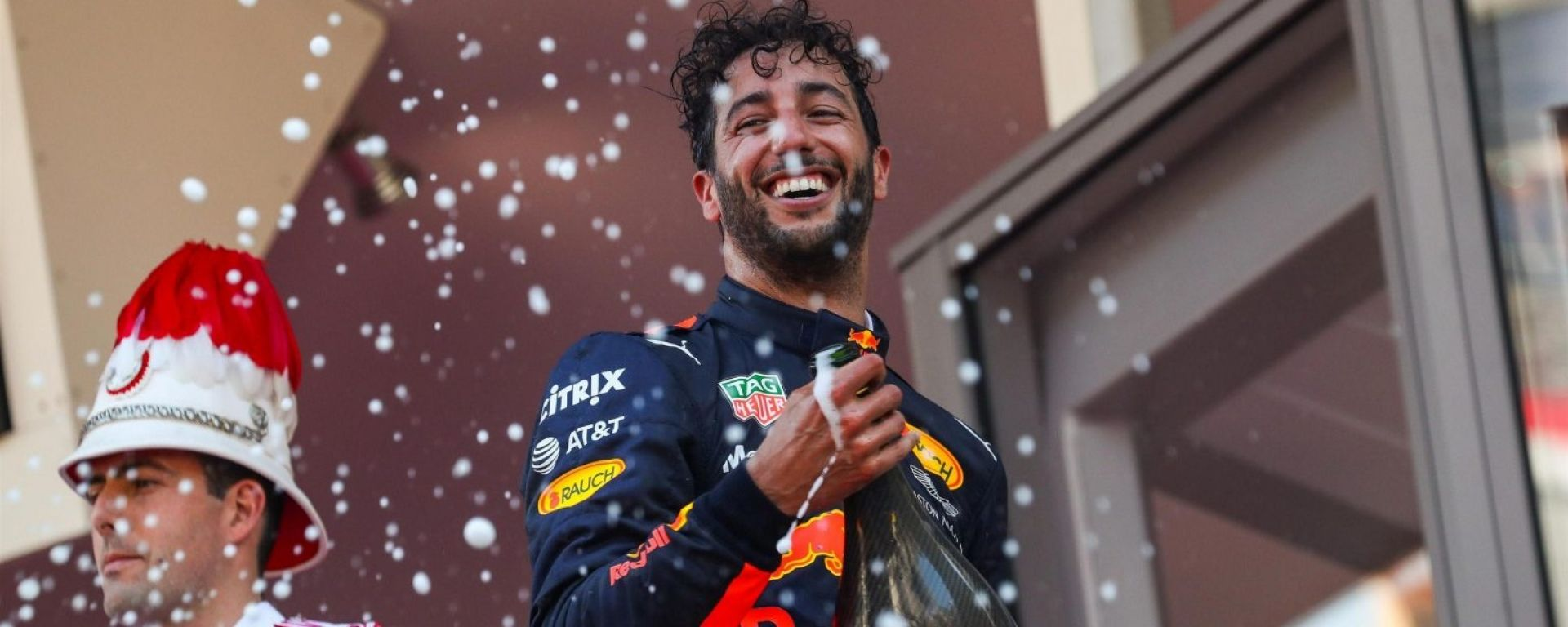 Ricciardo - F1, Gran Premio di Monaco 2017
