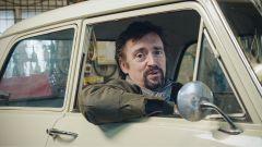 Richard Hammond, di Top Gear, al volante della sua Opel Kadett