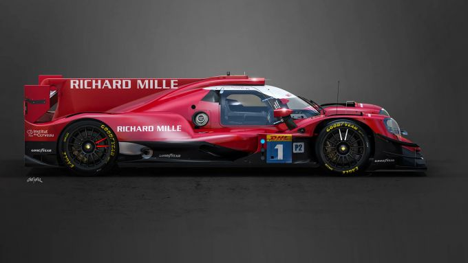 Richard Mille Racing, la LMP2 della stagione 2021