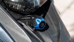 In sella alla Benelli TRK con sistema anti collisione Ride Vision - Immagine: 1
