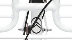Rider Citroenist by Martone: il logo sul manubrio