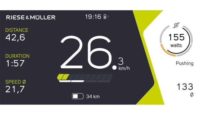 Riese & Müller Charger3 GT Vario: la app COBI.bike