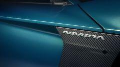 Rimac Nevera: il logo dell'auto