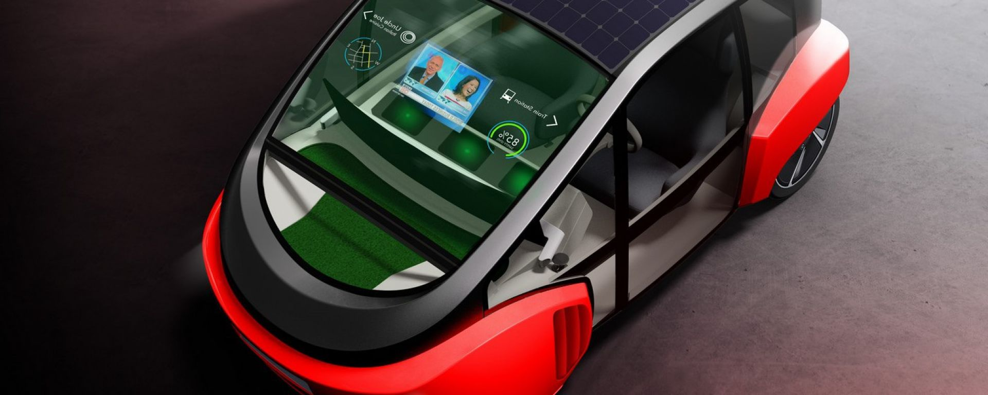 Rinspeed Oasis, l'utilitaria al tempo della guida autonoma