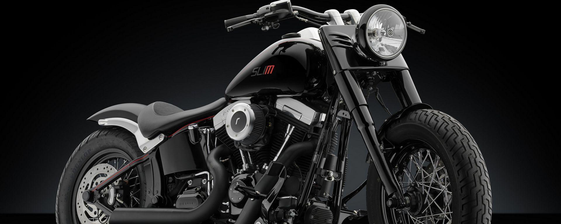 Rizoma: una linea di accessori per l'Harley-Davidson Softail Slim