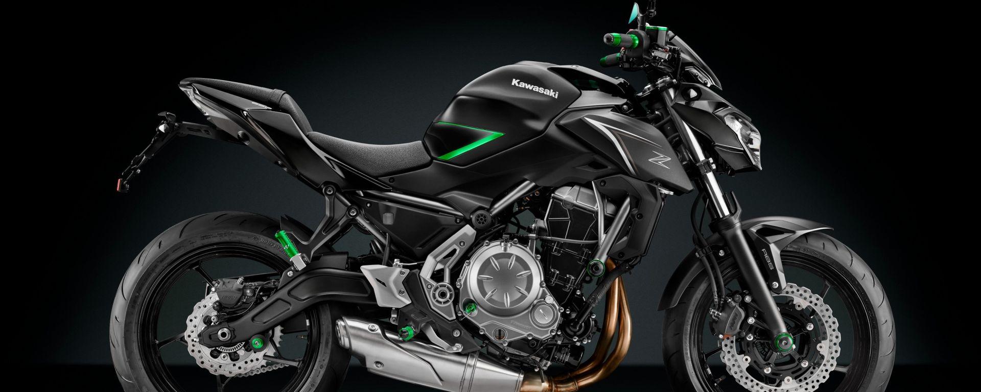 Rizoma nuova linea di accessori per Kawasaki Z650 e Z900