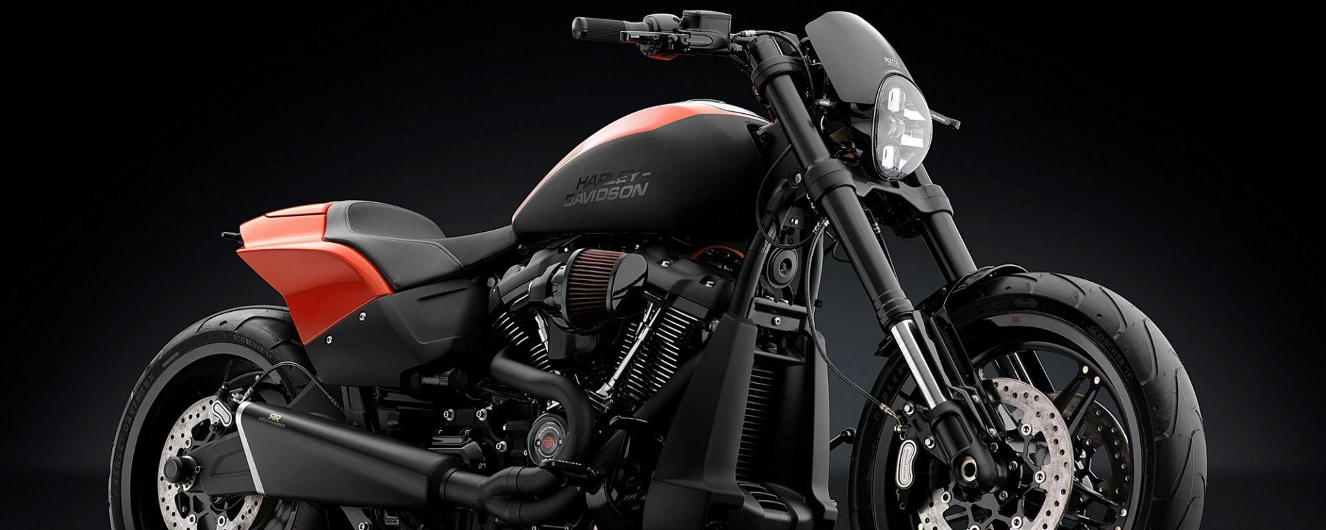 Rizoma rifà il look alla Harley Davidson Softail FXDR 114