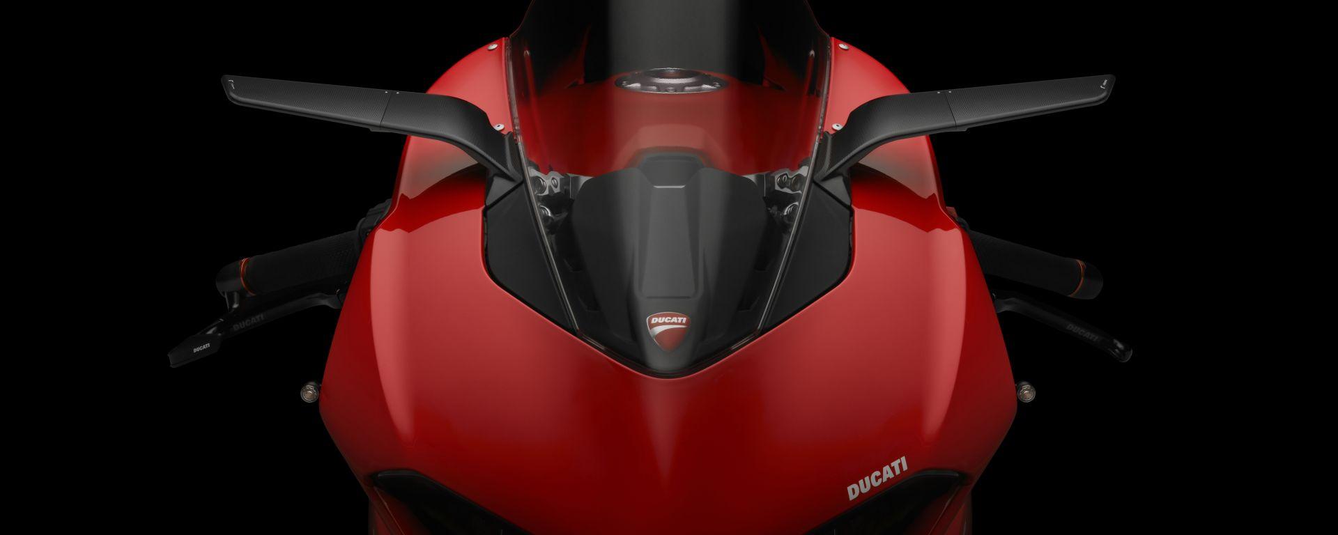 Rizoma Stealth su Ducati Panigale V2