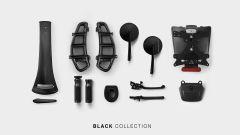 Rizoma Vespa Black collection