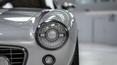RML 250 GT SWB: un dettaglio dei proiettori anteriori