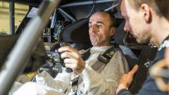 Robert Kubica a bordo della BMW M4 DTM