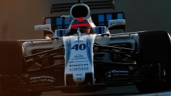 Robert Kubica al volante della FW40