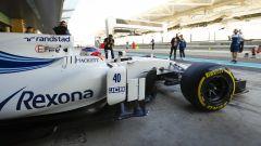 Robert Kubica al volante della Williams FW40