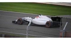 Robert Kubica con la Williams FW36 nei test di Silverstone