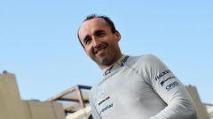 Robert Kubica nei test di Abu Dhabi