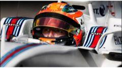 Robert Kubica sulla Williams FW36