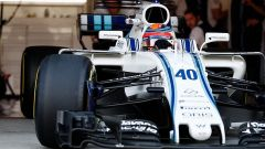 Robert Kubica sulla Williams FW40