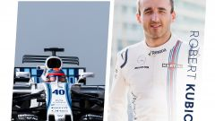 Robert Kubica terzo pilota Williams 2018
