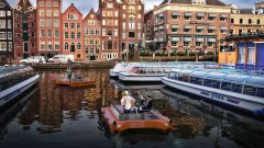 Roboat ad Amsterdam: la sperimentazione al via nel 2017