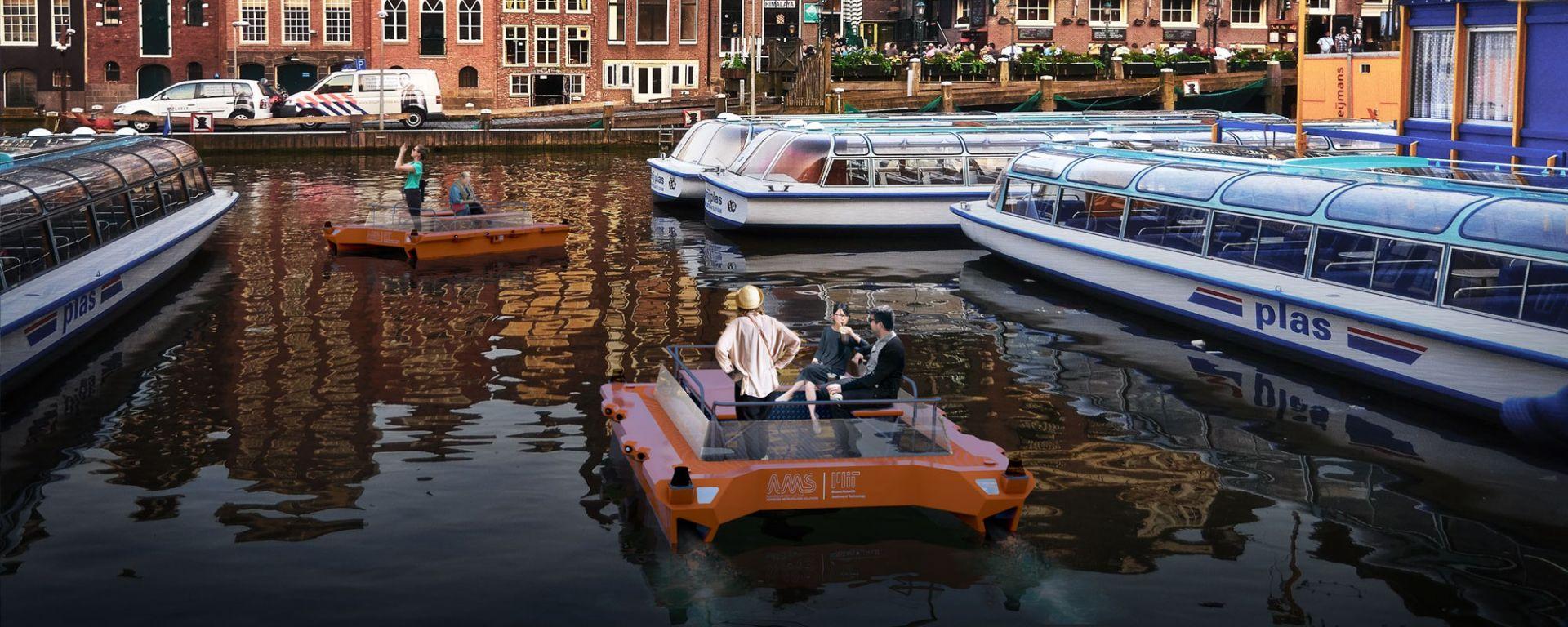 Roboat: le barche a guida autonoma per i canali di Amsterdam