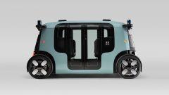"""Amazon, il primo robotaxi è un microbus """"bifronte"""" [VIDEO] - Immagine: 4"""