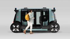 """Amazon, il primo robotaxi è un microbus """"bifronte"""" [VIDEO] - Immagine: 5"""